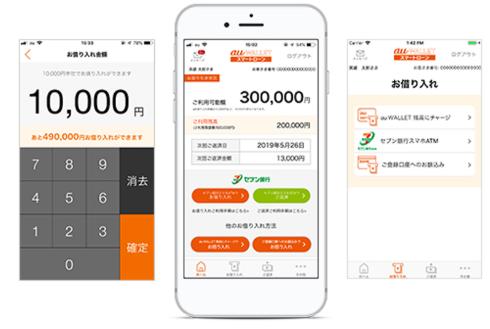 au WALLET(ウォレット)スマートローンアプリ