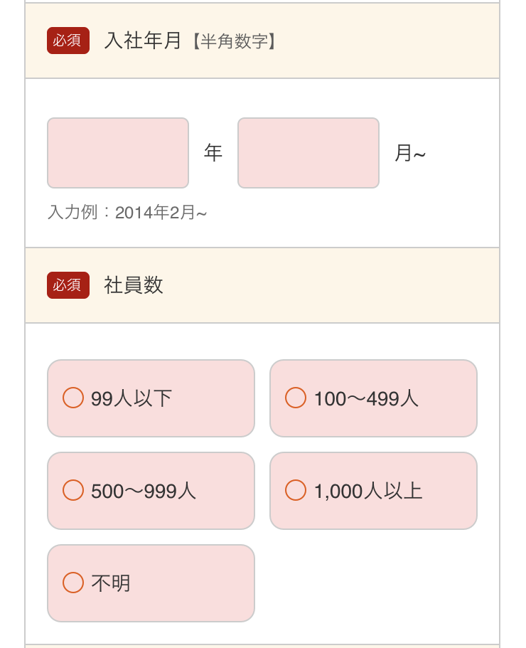 30.勤め先情報_au スマートローン(5)